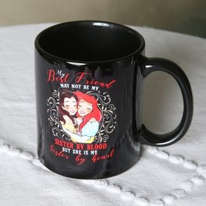 Vintage Mug:  My Best Friend Is My Sister By Heart